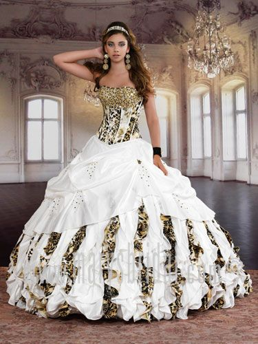 Google Image Result For Http Www Promdressfactory Com Products Zebra Wedding Dresses W0379