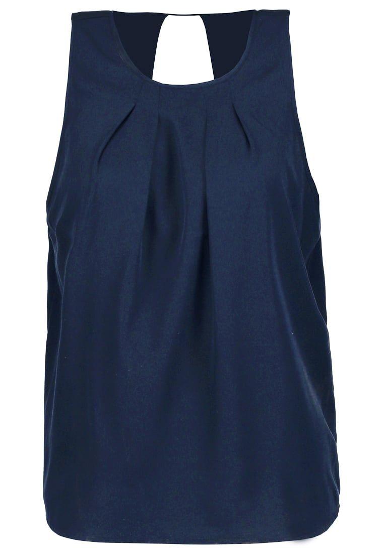 Vero Moda VMEMILY - Topper - navy blazer - Zalando.no