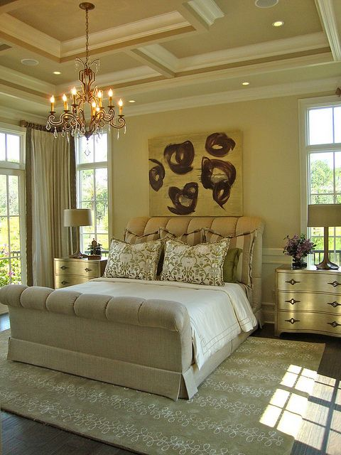 Issa Homes Golden Oak Casa di Lusso Model Home bedroom