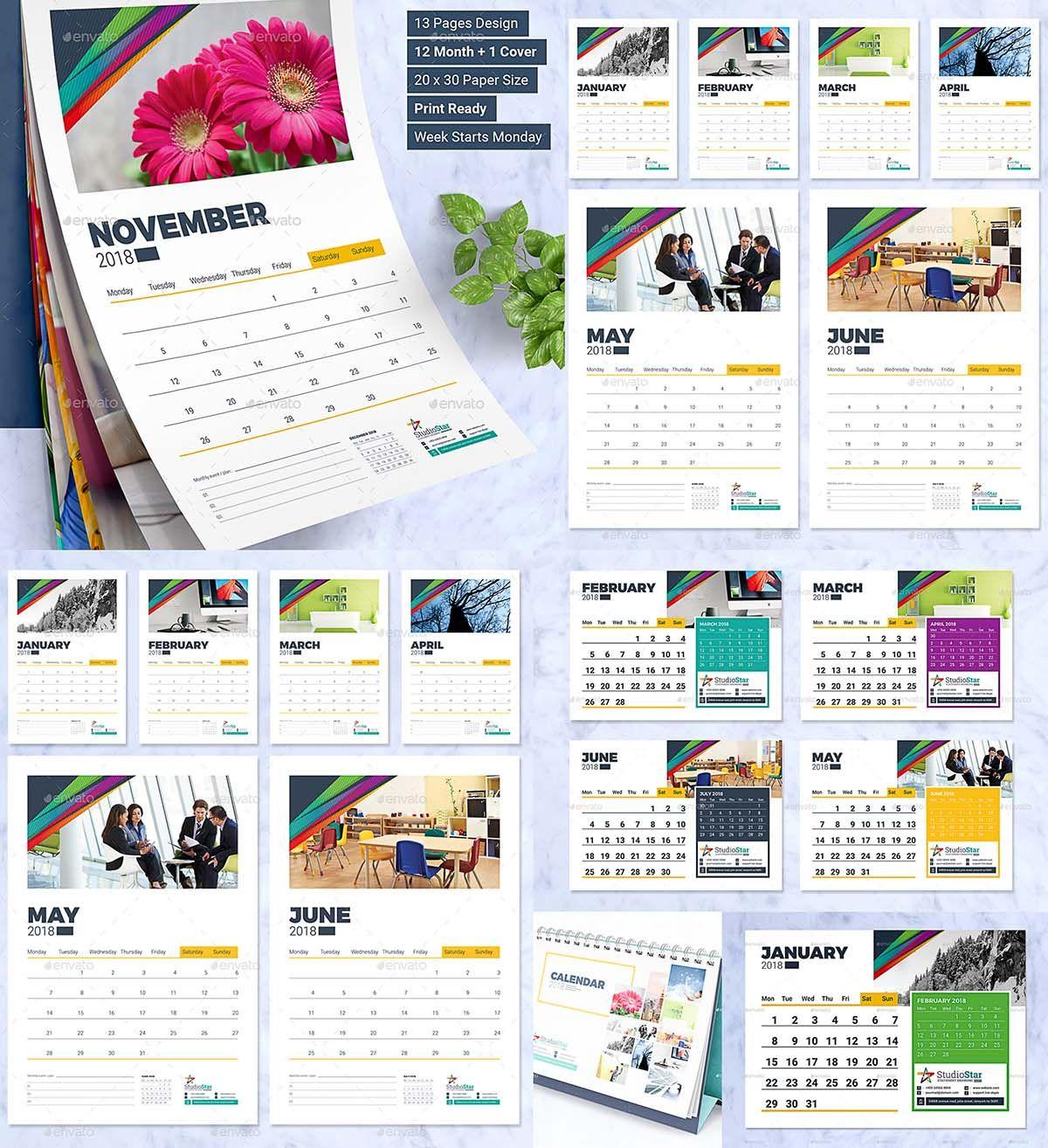 in design calendar templates