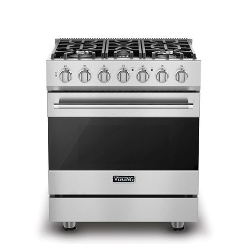 Freestanding Gas Range Stainless Steel