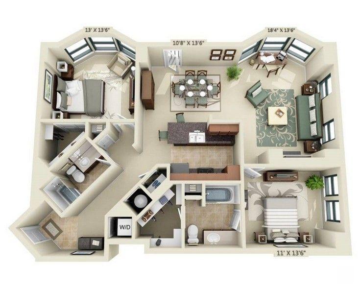 1301 Thomas Circle Apartments Washington Dc Architectuur