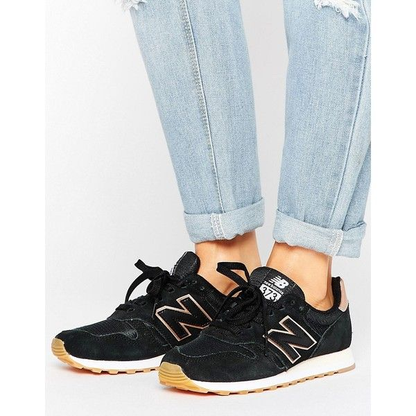new balance perforated 373 sneakers