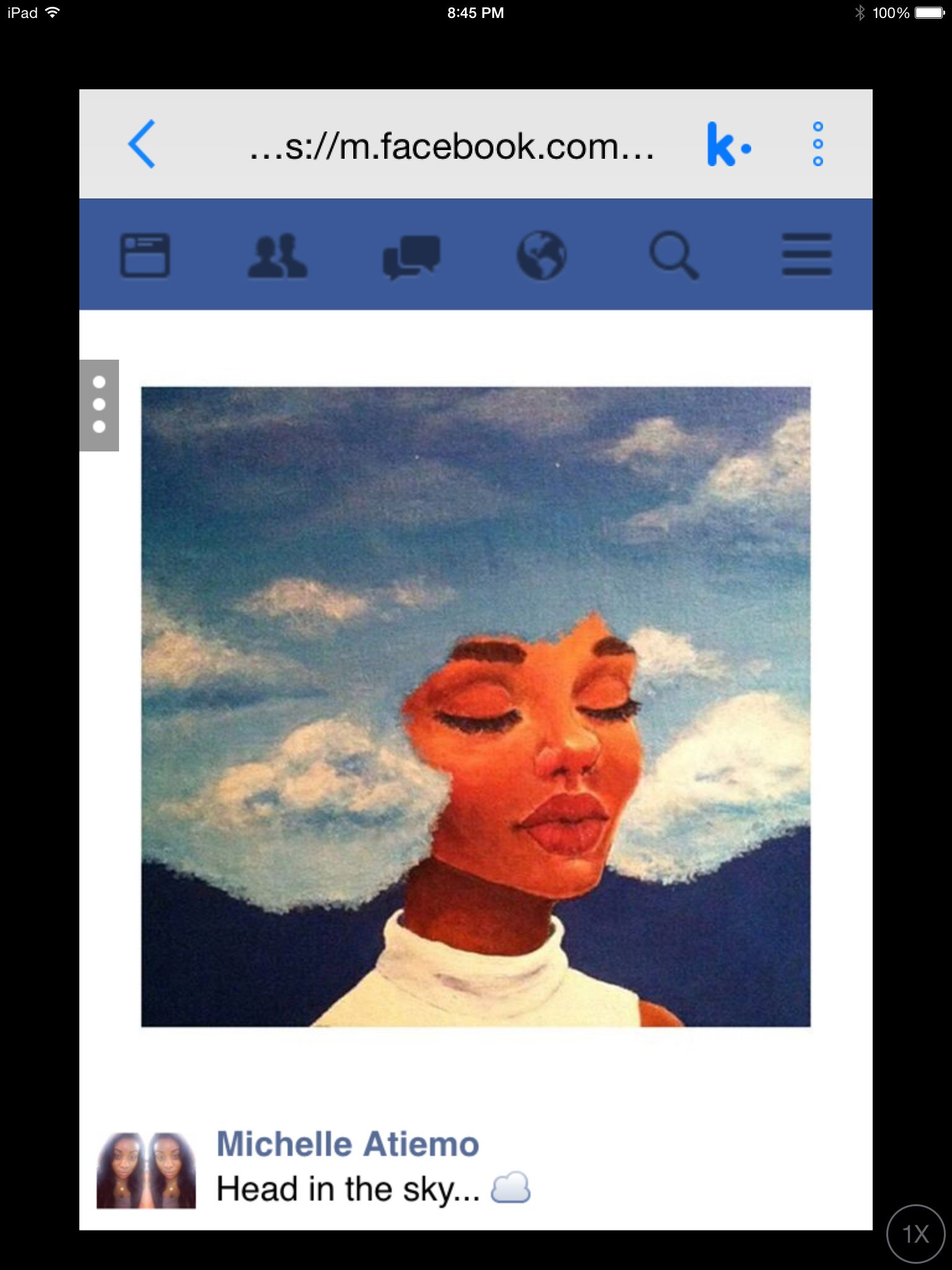Saw this on Facebook, going to redraw it and title it 'Head In the Clouds'.