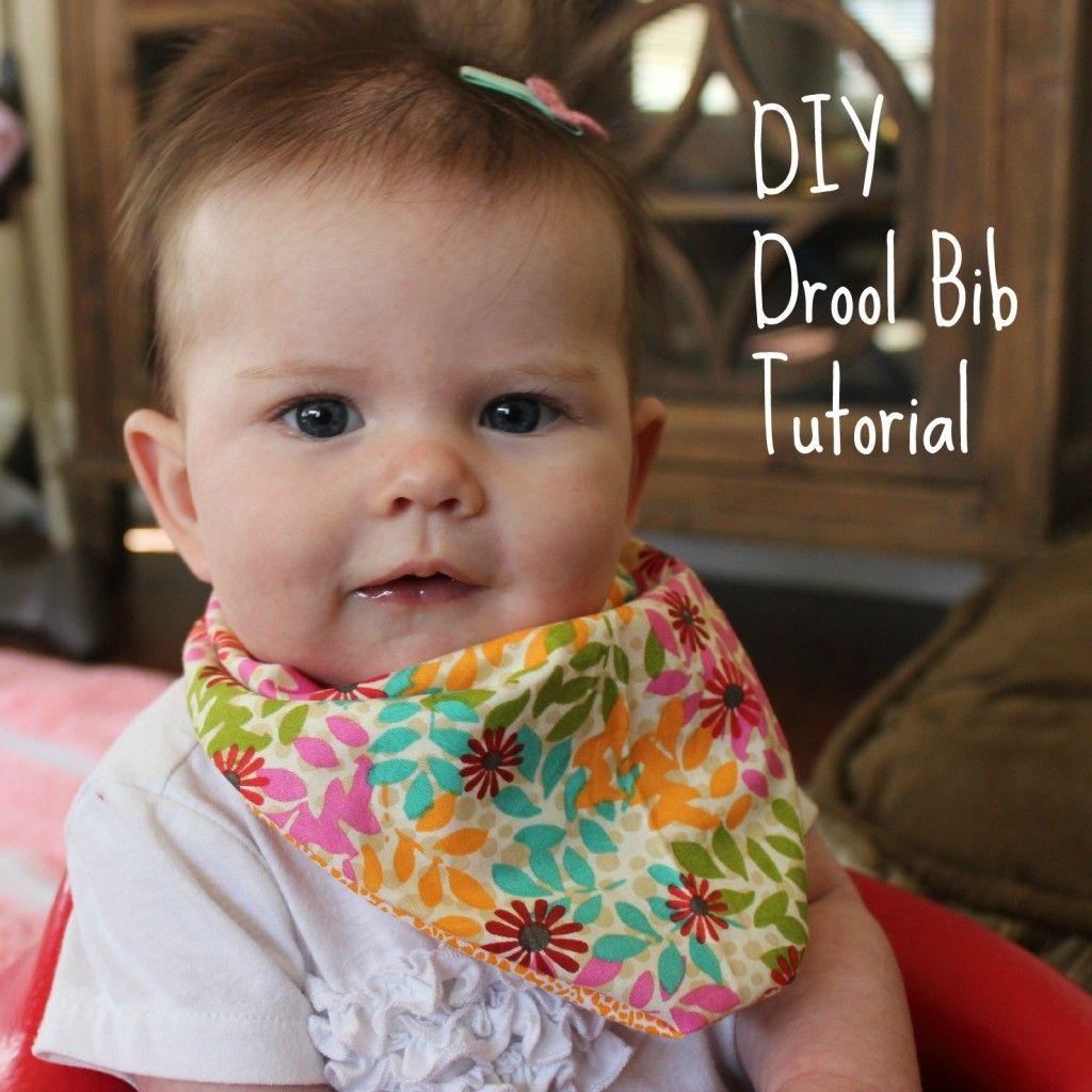 Diy Baby Drool Bib Bibs Infinity