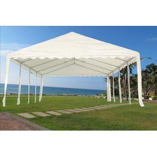 Fantastic 26X16 Heavy Duty Wedding Party Tent Canopy Carport White Interior Design Ideas Oxytryabchikinfo