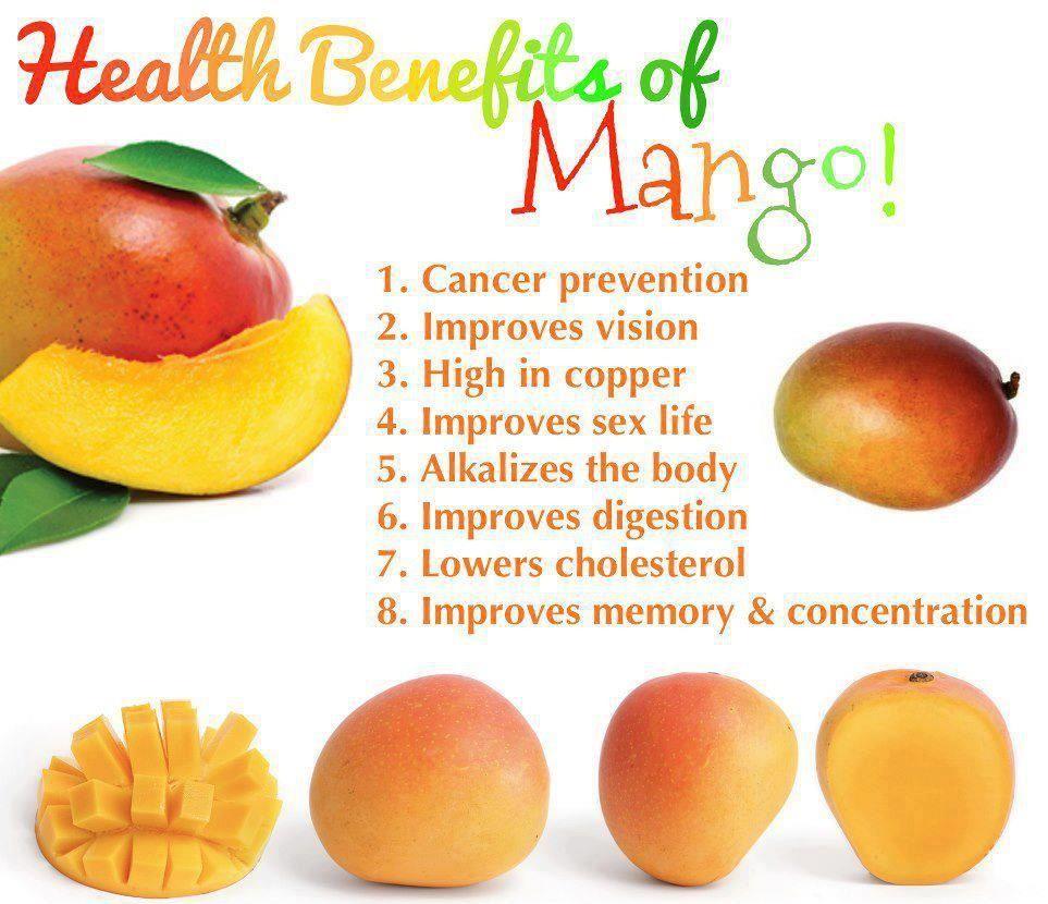 Health benefits of mango mango benefits mango health