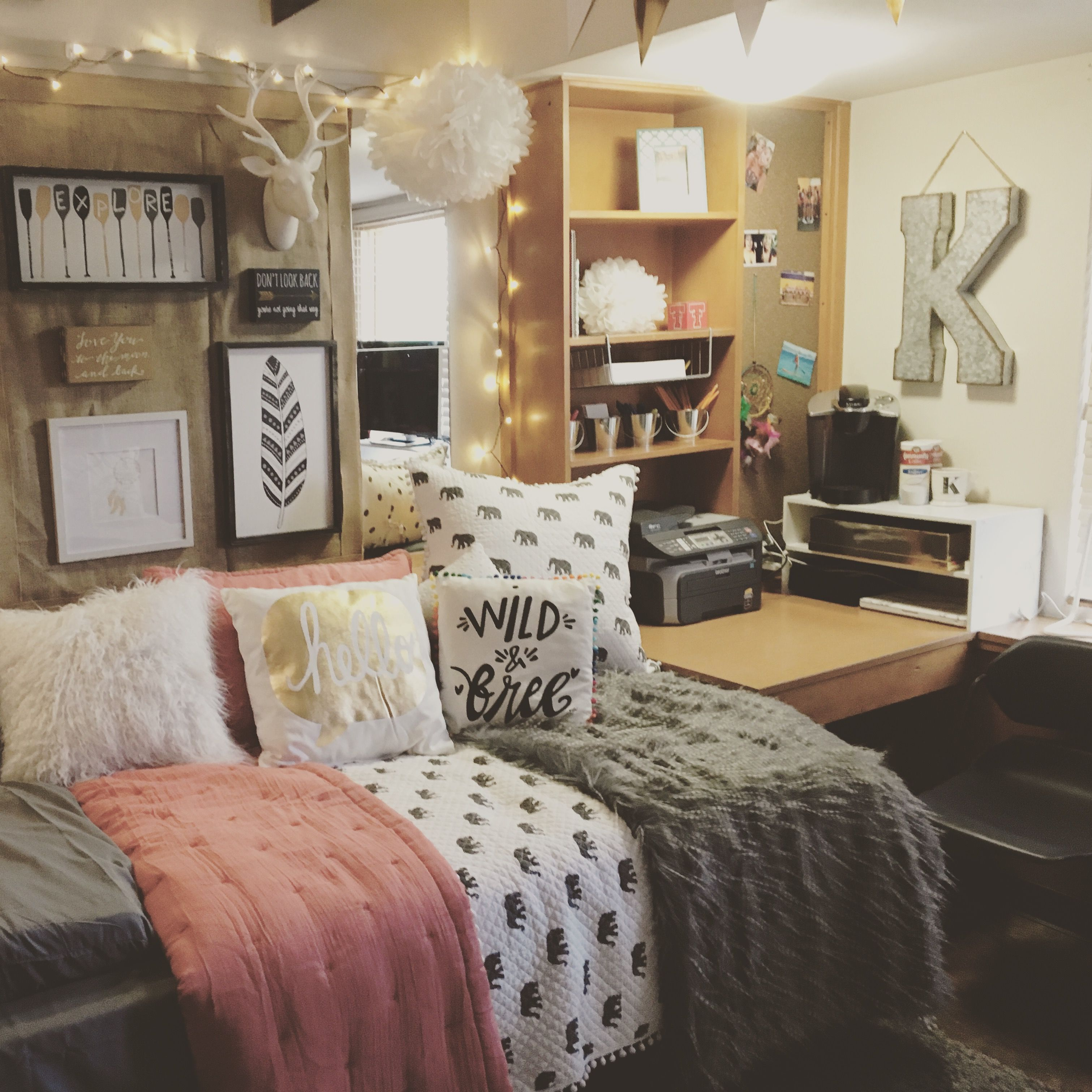 Daughters Dorm Room At Texas Tech University Clement Hall