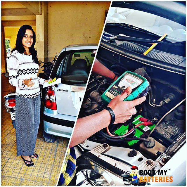 buy_battery This Young Lady's little hyundai santro back working again thanks to our team. Call us -》 8424991166 @buy_battery 🔸️Car Battery 🔸️Bike Battery 🔸️Inverter Battery #deadcarbattery #stuckinthemiddle #batterychanged #india #mumbai #indiancars #audiindia #mercedisebenz #jaguar #bmwindia #automotive #hyundai #hondacars #marutisuzukiindia #exoticcars #bigboytoys #exidebattery #amaronbattery #cheapestprice #rajasthan #gujrat #madhyapradesh #maharashtra #karnataka #telangana #hyderabad