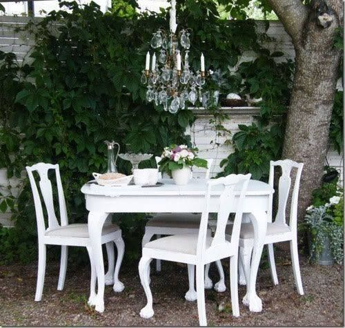 17 Lively Shabby Chic Garden Designs That Will Relax And: Décorations De JARDINS