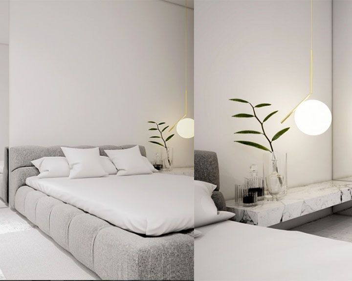 Ic suspension light by flos get it at lightform bedroom