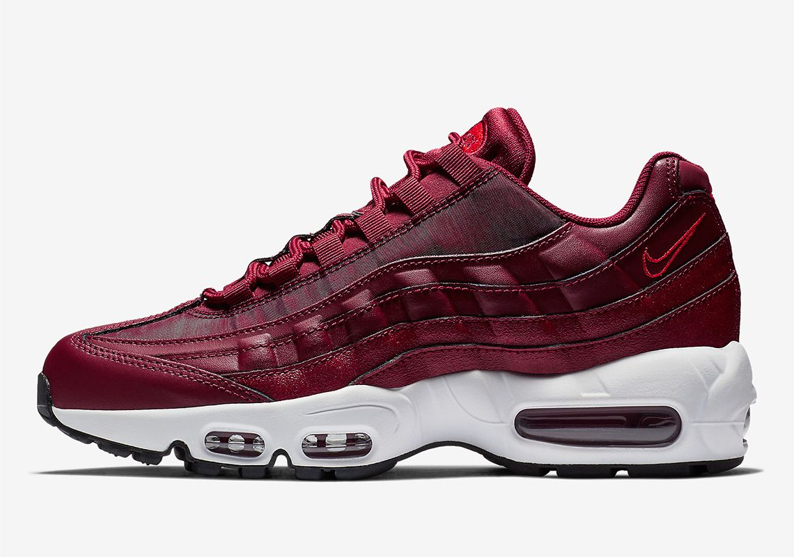 Nike Air Max 95 Team Red 307960 605 Release Info With Images
