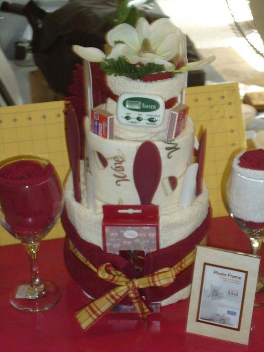 Towel Cakes Kitchen