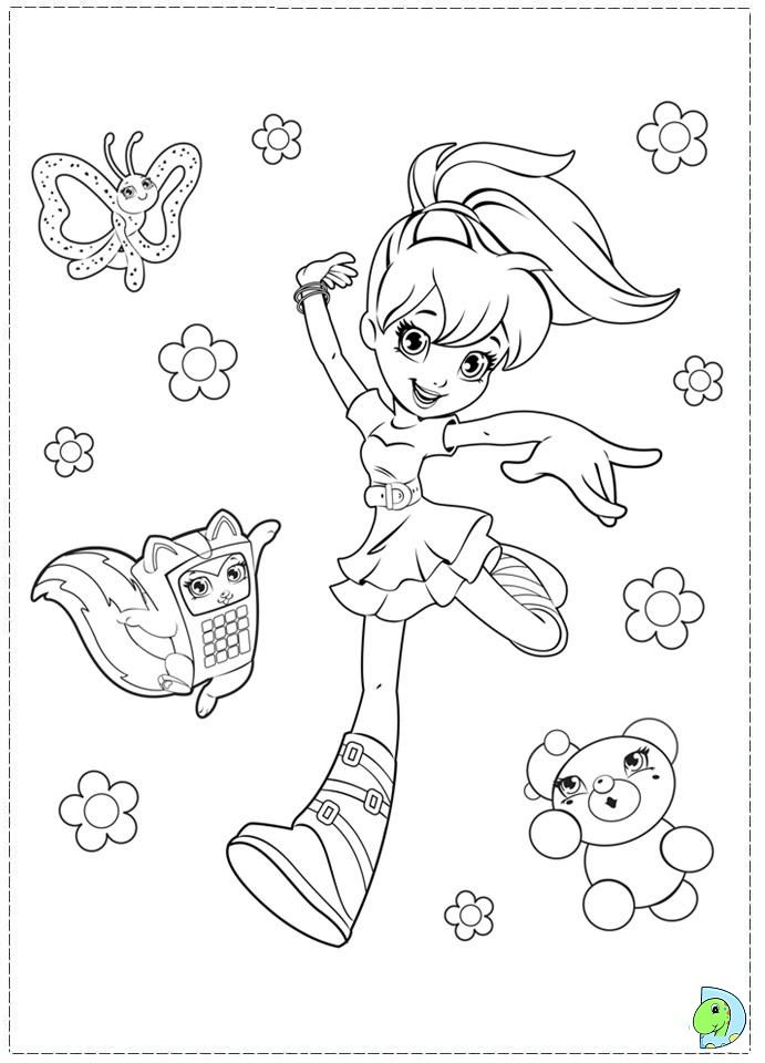 Polly Pocket Coloring Pages Coloring Page Coloring Pages