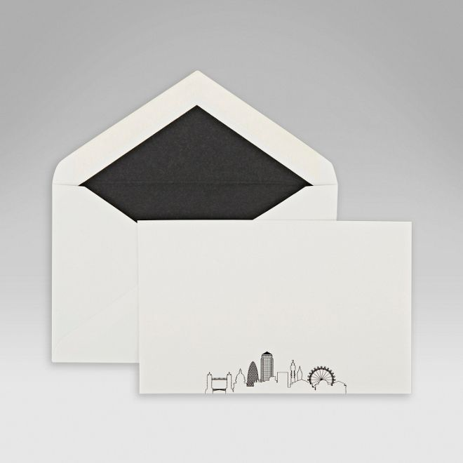 Shop The London Skyline Correspondence Cards