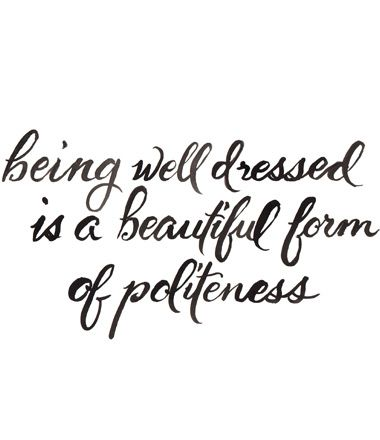 Beautiful Politeness print by Inslee