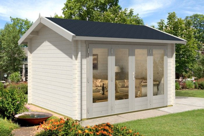 Neu Gartenhaus & Falttüren - die perfekte Kombination | Gartenhäuser  TG51