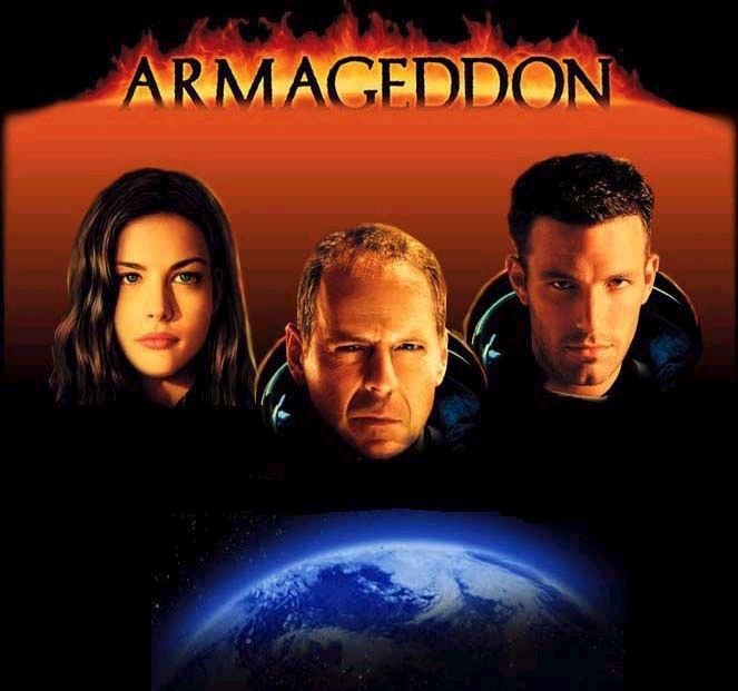 bruce willis armageddon movie poster my life round 2 leaves in