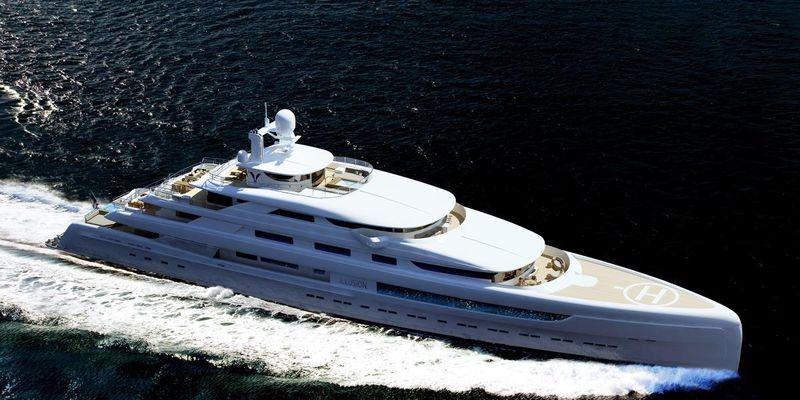 Motor yacht ILLUSION PLUS by Pride Mega Yachts