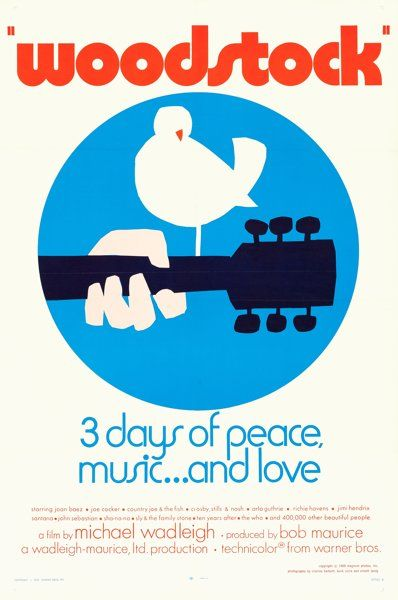 Woodstock 1969 Woodstock Poster Woodstock Woodstock Festival
