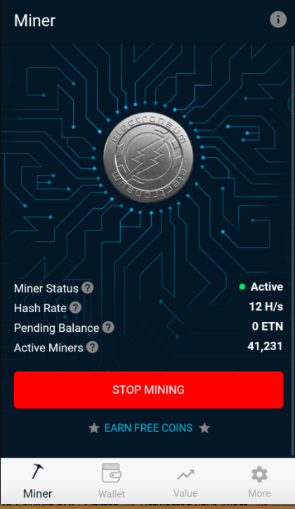 mobile mining cryptocurrencies