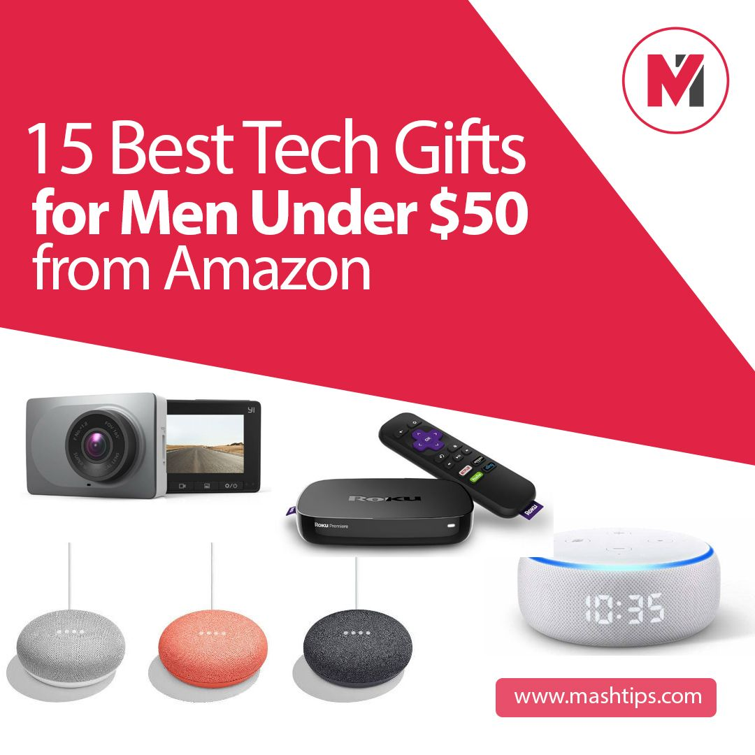 15 best tech gifts for men under 50 from amazon