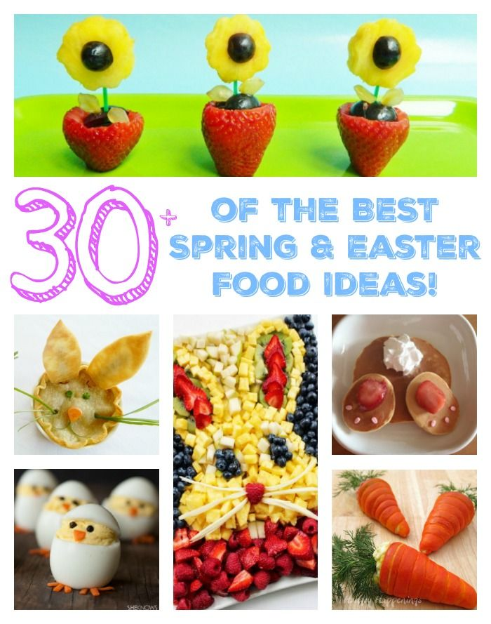 The BEST Spring Easter Food Ideas