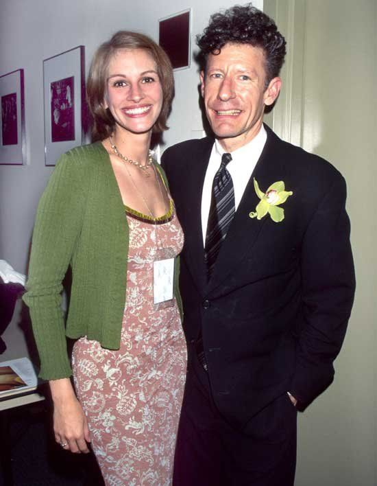Julia Roberts And Lyle Lovett