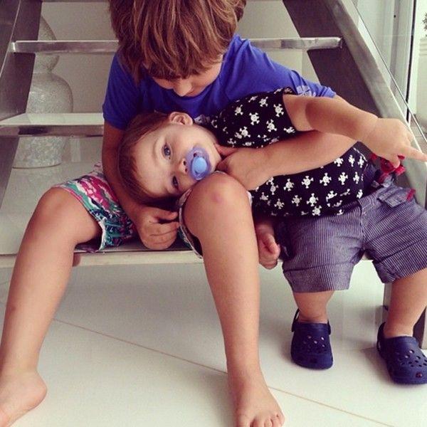 A Cláudia Leitte tem filhos lindos, não acha?