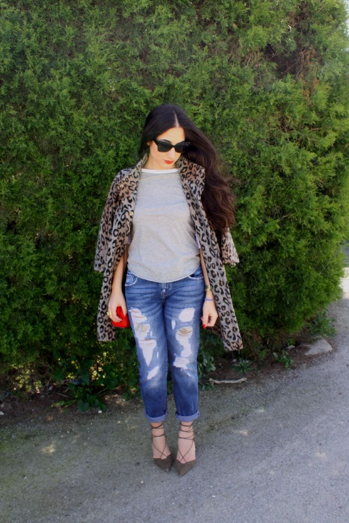 Fashionable rose : today, leopard moment
