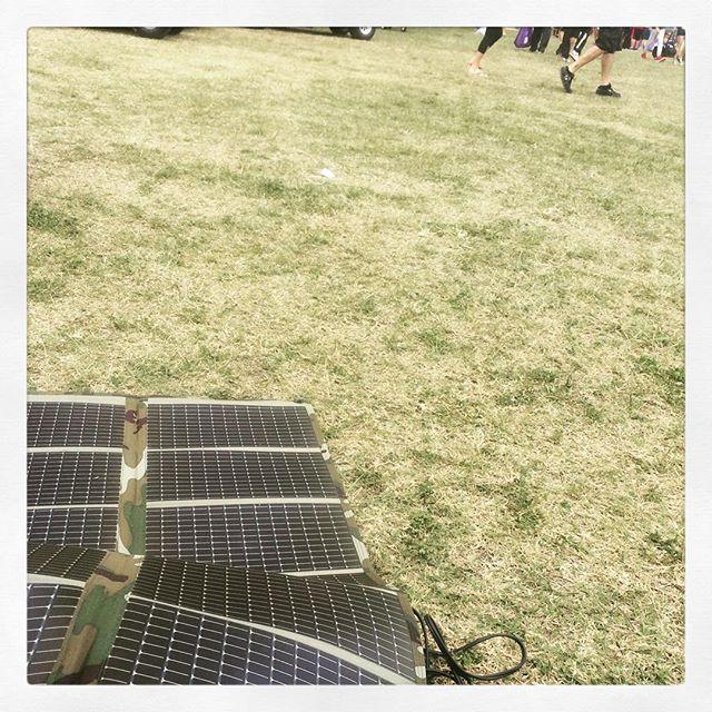 Everyone Was So Jealous Of My Powerfilmsolar And Goalzerolsherpa Portable Solar Kit Kept The Batteries C Solar Solar Charger California