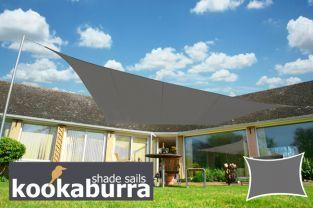 Voile D Ombrage Charbon Rectangle 4x3m Impermeable 160g M2 Kookaburra Toldos Vela Velas De Sombra Toldos Impermeables