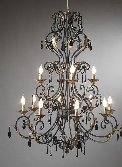 Muebles de hierro forjado chandeliers wrought iron and iron - Muebles de hierro forjado ...