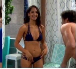 Christel Khalil On The Young And The Restless Lingerie