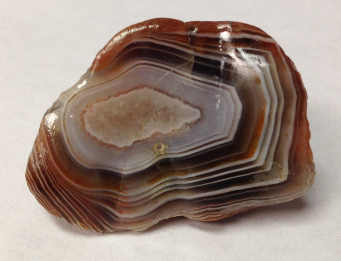 Botswana Agate ~ found at Mississippi River, Little Falls, MN