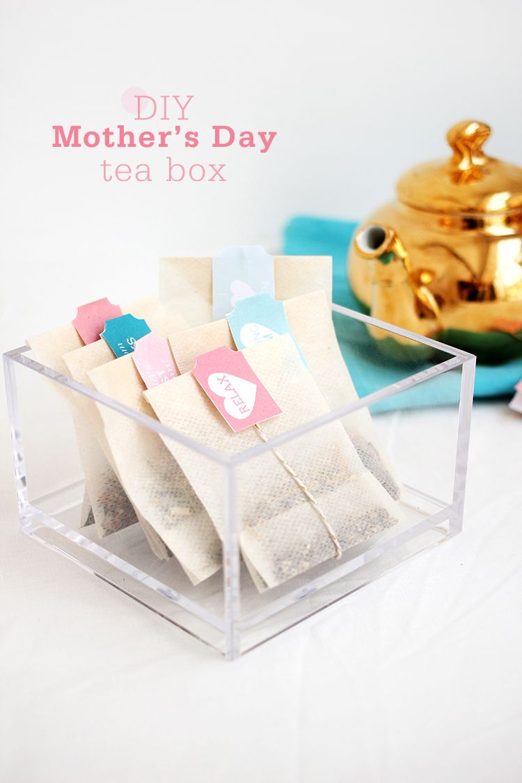 DIY Mother\'s Day Tea for Two | Teas, Box and Tutorials