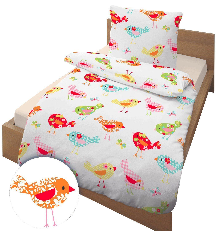 Bettwäsche Vögel 135x200 Cm Renforce Unbekannt Amazon De Küche Amp Haushalt Bettwäsche Kissenbezug Kissenbezug 80x80