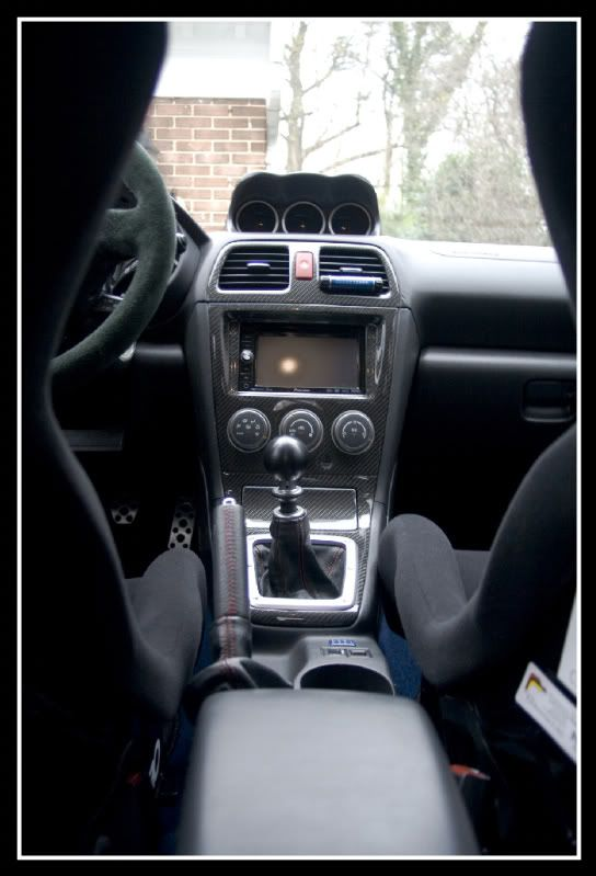 07 Subaru Impreza Wrx Sti Carbon Fiber Interior Trim Happy