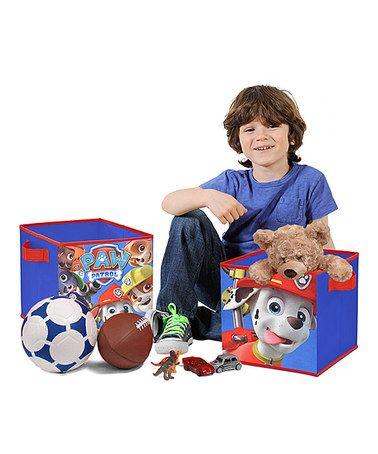 Another Great Find On Zulily Paw Patrol Storage Cube Set Of Two
