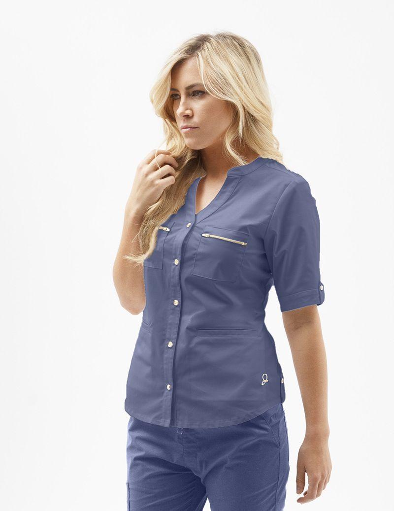 1bcb4f87305 Jaanuu button up scrubs | Nursing Student | Medical scrubs, Scrubs ...