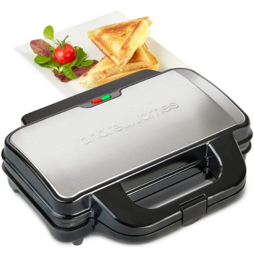 Andrew James 900W Deep Fill Toastie Maker For 2 x Extra-Thick Toasted Sandwiches - 2 Year Warranty https://www.amazon.co.uk/gp/product/B018QV1HOW/ref=as_li_ss_tl?ie=UTF8&psc=1&linkCode=ll1&tag=httpsukpin094-21&linkId=4041c7868e6cea35113239106d8065f5