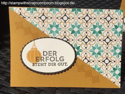 Stampin avec Scraproomboom: Weltkartenbasteltag