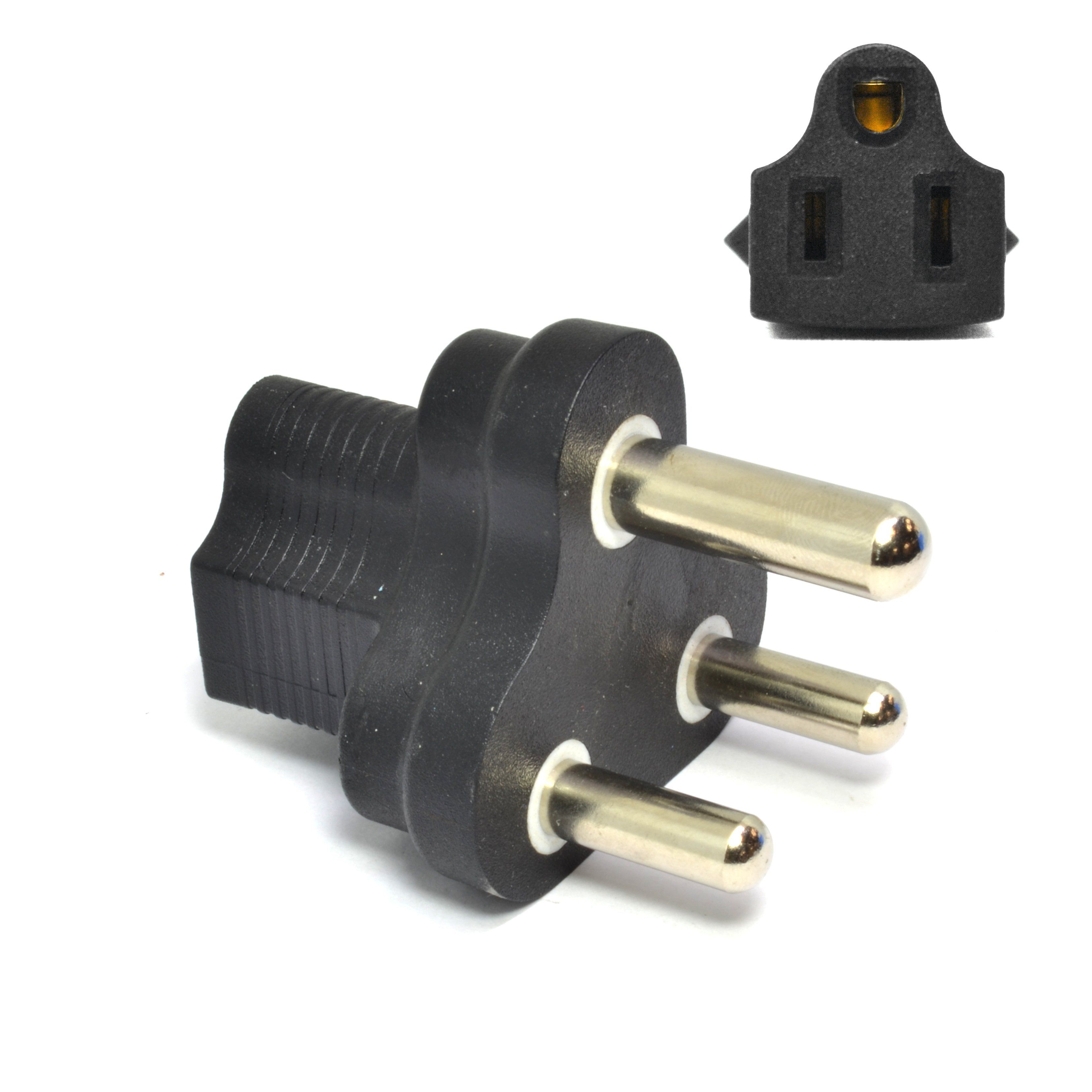 South Africa Travel Adapter Type M Industrial Grade Ig 10l