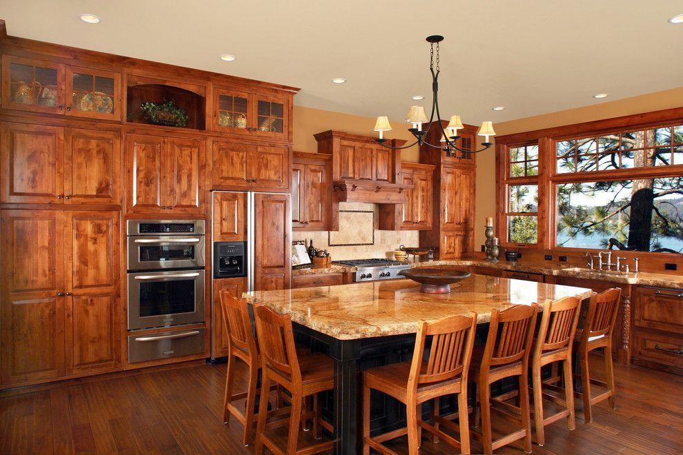 Knotty Alder Kitchen Cabinets Price Prana Spa Seminyak