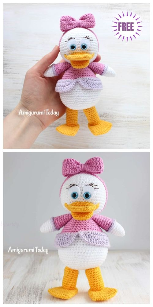 Crochet Amigurumi Webby Duck Free Pattern   amigurumis   Pinterest