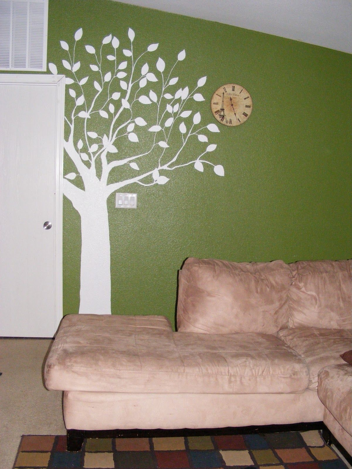 Image Result For Unique Wall Paint Metal Tree Wall Art Tree