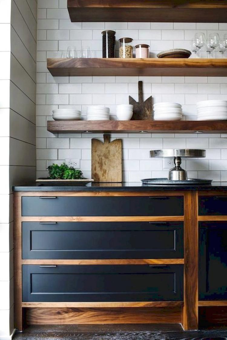 30 Gorgeous Kitchen Cabinets For Your Rustic Farmhouse Ideas Page 14 Of 38 Tigrisiahouse Info Farmhouse Kitchen Design Rustic Kitchen Home Kitchens
