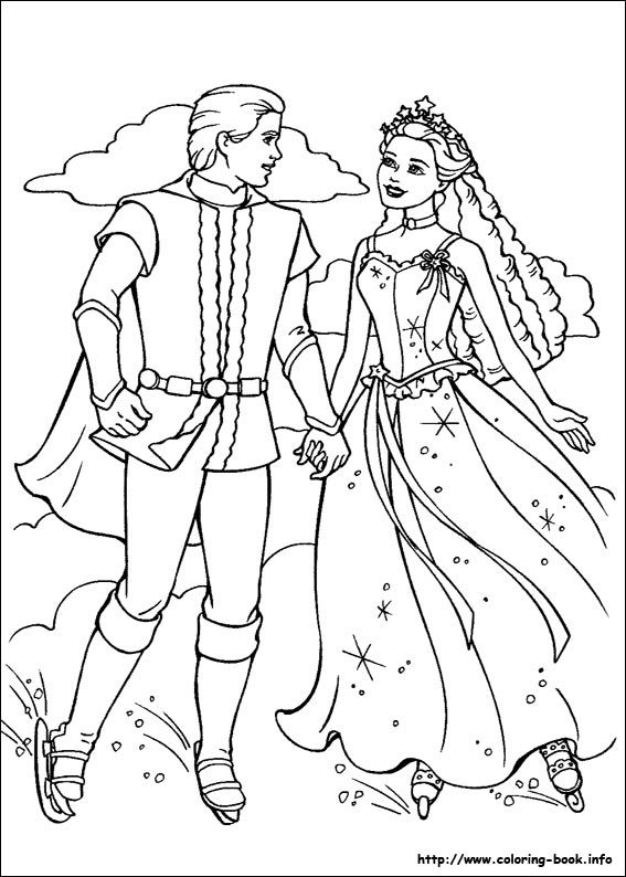 Barbie and the Magic of Pegasus coloring picture | barbie ...