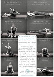 a spring yin sequence for outer hip thigh sidebody to