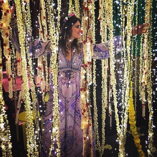 """Pre Wedding Party Ideas: Noor Fares's """" One Thousand And One Nights"""" Pre-wedding"""